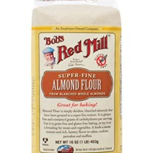 Bob's Red Mill Almond Meal/Flour, 16 Ounce Package