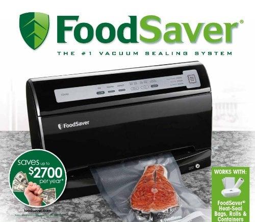 FoodSaver V3460 Automatic Vacuum Sealing System