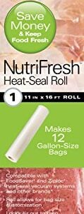 Hamilton Beach NutriFresh Heat Vacuum Sealer, 7 Roll Combo Pack (78340)