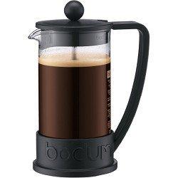 Bodum Brazil French Press 1 Liter 8 Cup Coffee Maker, 34 Ounce, Black