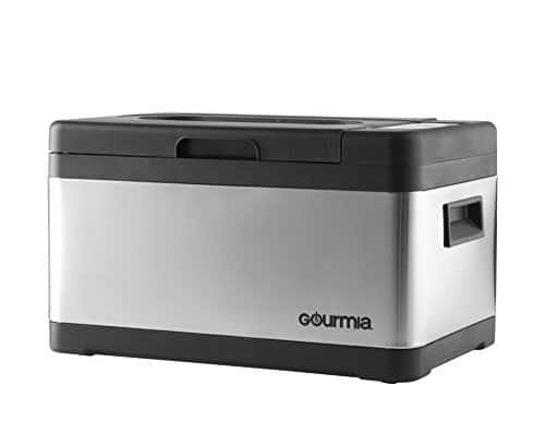 Gourmia GSV900 Sous Vide Self Contained Circulating Water Oven With Rack Stainless Steel 10 Quart Includes Free Recipe Book 110V