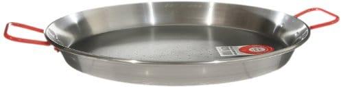 Garcima 10 Inch Carbon Steel Paella Pan, 26cm