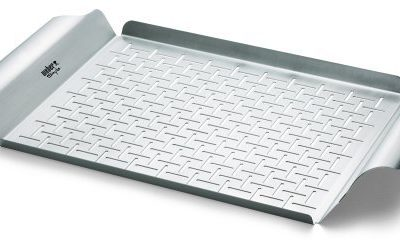 Weber Style Professional-Grade Grill Pan
