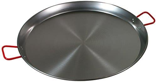 Garcima 32 Inch Carbon Steel Paella Pan, 80cm