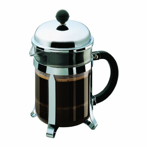 Bodum Chambord 4 Cup Shatterproof French Press Coffemaker, 0.5 L, 17 Ounce