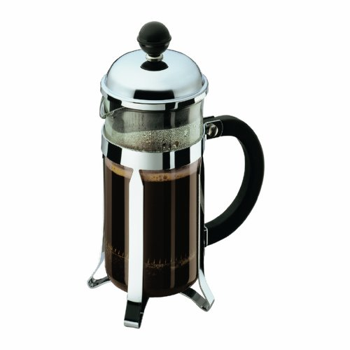 Bodum Chambord 3 Cup Shatterproof French Press Coffeemaker, 0.35 L, 12 Ounce