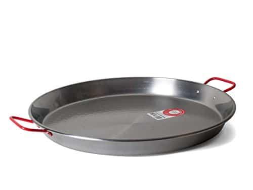 Garcima 20 Inch Carbon Steel Paella Pan, 50cm