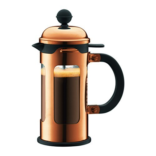Bodum Chambord 3 Cup French Press Coffee Maker With Locking Lid