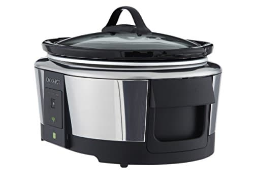 Crock Pot SCCPWM600 V2 Wemo Smart Wifi Enabled Slow Cooker, 6 Quart, Stainless Steel