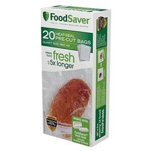 FoodSaver Quart Sized Bag Pack