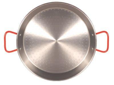 Garcima 26 Inch Carbon Steel Paella Pan, 65cm