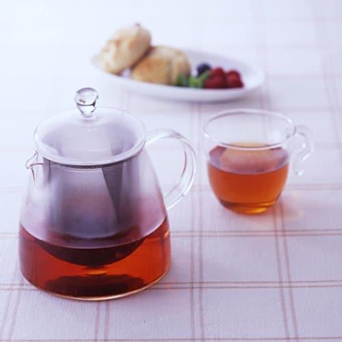 Hario Pure Glass Tea Pot (700ml)