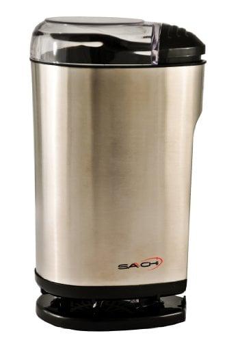 Saachi SA 1440 Stainless Steel Coffee Grinder / Spice Grinder