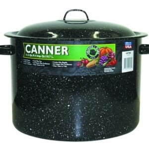 Granite Ware, 706 2, Covered Preserving Canner With Rack, 12 Quart