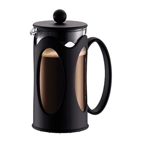 Bodum Kenya 8 Cup French Press Coffee Maker, Stainless Steel