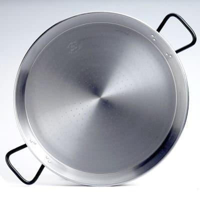 Garcima 22 Inch Pata Negra Restaurant Grade Paella Pan, 55cm