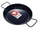 Garcima 9 1/2 Inch Enameled Steel Paella Pan, 24cm