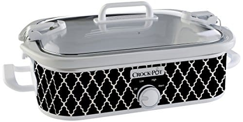 Crock Pot SCCPCCM350 CR Casserole Crock Slow Cooker, 3.5 Quart