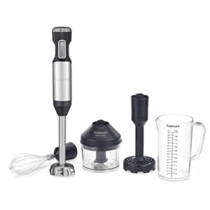 Cuisinart CSB 100 Smart Stick Variable Speed Hand Blender, Stainless Steel