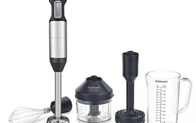 Cuisinart Smart Stick Variable Speed Hand Blender, Stainless Steel