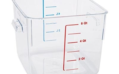 Rubbermaid Commercial Space-Saving Container