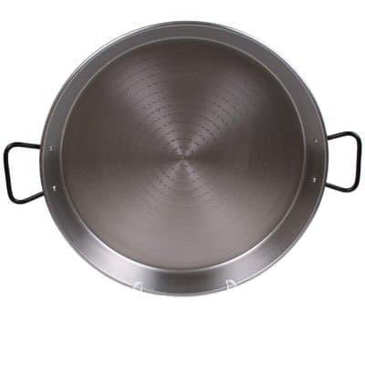 Garcima 16 Inch Pata Negra Restaurant Grade Paella Pan, 40cm