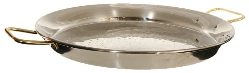 La Paella Stainless Steel Paella Pan