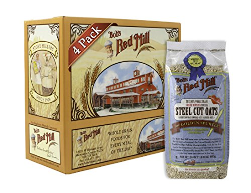 Bob's Red Mill Steel Cut Oats, 24 Ounce (Pack Of 4)