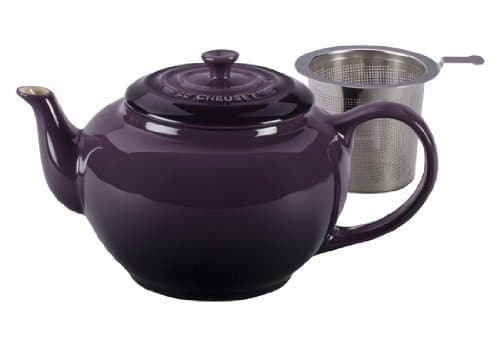 Le Creuset Unisex Large Teapot With Stainless Steel Infuser, 1qt