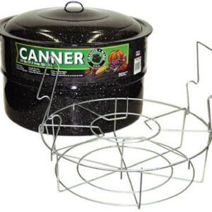 Columbian Home Products 0709 Graniteware 33 Qt. Cold Pack Canner