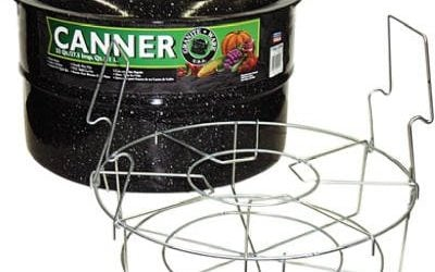 Columbian Home Products 0709 Graniteware 33-Qt. Cold Pack Canner