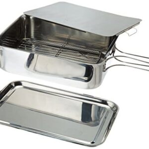 ExcelSteel Stainless Steel Stovetop Smoker