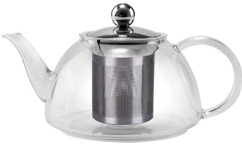 Uniware Glass Kettle Tea Pot, 1200ml