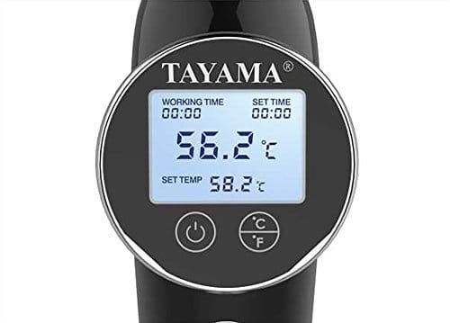 Tayama ELE 01 Sous Vide Immersion Circulator In Black,