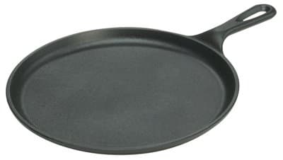 Lodge Mfg L9OG3 Logic Griddle, Seasoned Cast Iron, 1/2 X 10 1/2 In. Round