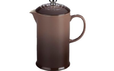 Le Creuset Stoneware 27oz. French Press, Truffle
