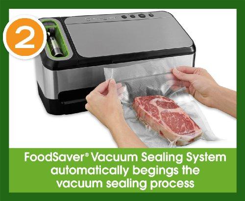 FoodSaver 2 In 1 Vacuum Sealing System With Starter Kit, 4800 Series, V4840
