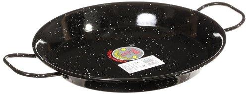Garcima 11 Inch Enameled Steel Paella Pan, 28cm