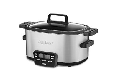 Cuisinart 3-In-1 Cook Central Multi-Cooker, Slow Cooker, Steamer