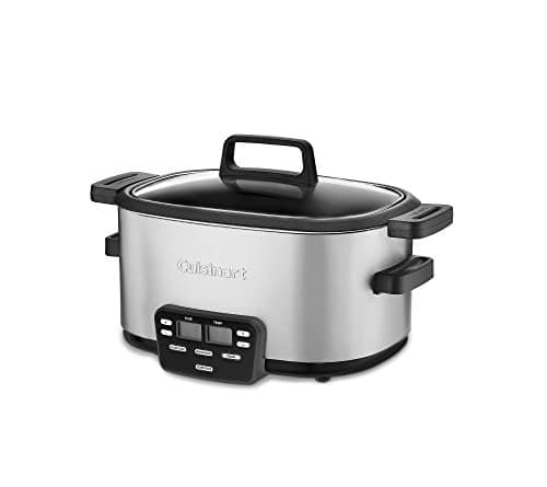 Cuisinart 3 In 1 Cook Central Multi Cooker, Slow Cooker, Steamer