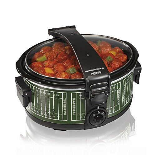 Hamilton Beach Stay Or Go 6 Quart Portable Slow Cooker
