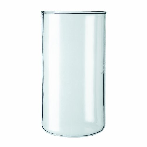 Bodum Spare Glass W/o Spout Replacement Part For Bodum Bean French Press Coffee Maker Transparent Various Sizes
