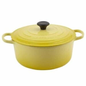 Le Creuset Signature Enameled Cast Iron 7 1/4 Quart Round French Oven