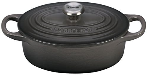 le creuset signature enameled cast iron 1 quart oval. Black Bedroom Furniture Sets. Home Design Ideas