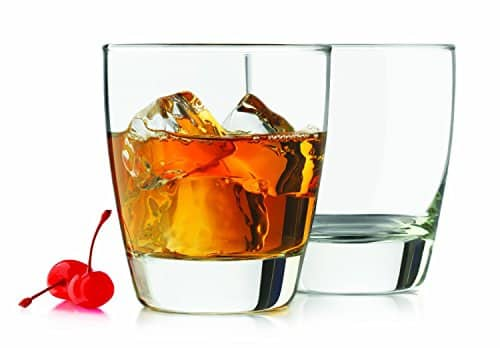 Libbey 4 Piece Classic Heavy Base Old Fashioned Glasses, 13 Ounce, Clear