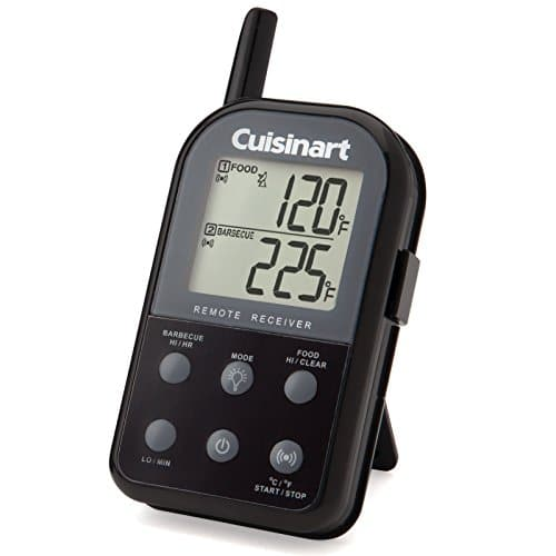 Cuisinart CSG 900 Wireless Dual Probe Grilling Thermometer, Black