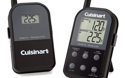 Cuisinart CSG-900 Wireless Dual Probe Grilling Thermometer, Black
