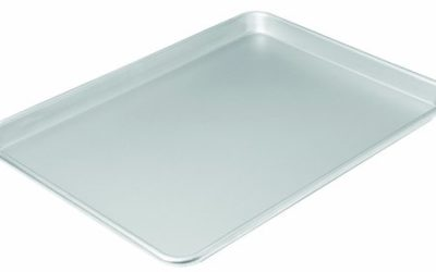 Chicago Metallic Commercial II Traditional Uncoated Large Jelly Roll Pan, 16-3/4 by 12-Inch