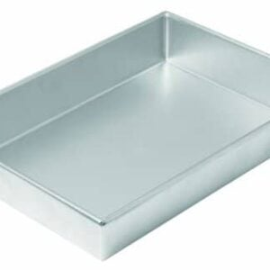 Chicago Metallic Commercial II Traditional Uncoated Bake N' Roast Pan, 13 By 9 By 2 1/4 Inch
