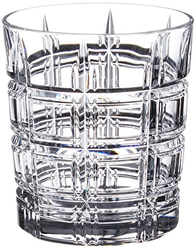 Marquis By Waterford Crosby Double Old Fashion Set (Set Of 4), Clear